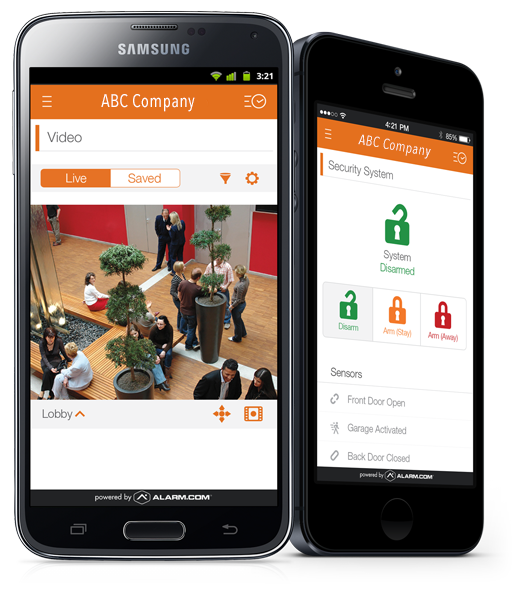 Alarm Systems with Mobile Monitoring App - Charlotte NC based Piedmont Security Systems